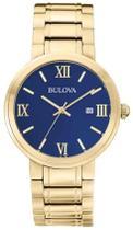 Relógio Masculino Bulova Analógico Wb26146z Dourado -