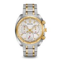 Relógio Masculino Bulova Analógico WB31952S - Prata/Dourado -
