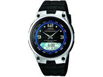 Relógio Masculino Casio Anadigi - AW 82 1AVDF Preto