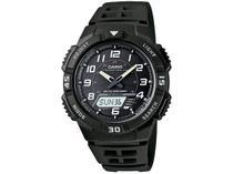 Relógio Masculino Casio Anadigi Esportivo - AQ-S800W-1BVDF Preto