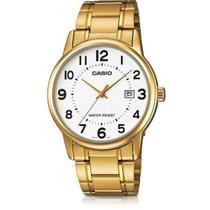 367841973f8 Relogio Masculino Casio Collection - Mtp-v002g-7budf - Dourado