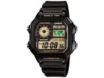 Relógio Masculino Casio Digital - AE-1200WH-1BVDF