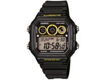 Relógio Masculino Casio Digital - AE-1300WH-1AVDF Preto
