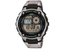 Relógio Masculino Casio Digital - AE-2100WD-1AVDF Prata