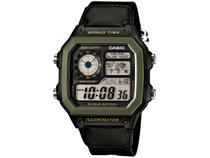 Relógio Masculino Casio Digital Esportivo - AE-1200WHB-1BVDF Preto
