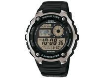 Relógio Masculino Casio Digital Esportivo - AE-2100W-1AVDF Preto