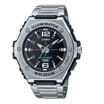 Relógio Masculino Casio Standard Analógico Prata MWA-100HD-1AVDF -