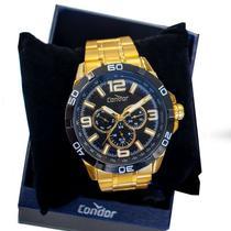 Relógio Masculino Condor Analógico Dourado CO6P29JN/4P -