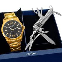 Relógio Masculino Condor Analógico Dourado COPC21AECF/K4P -