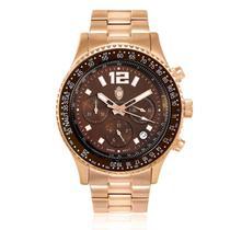 0d5608a50e0 Relógio Masculino Constantim Navitimer CT-01 REF G0099C Rose Brown
