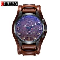 Relógio Masculino Curren 8225 Original Couro Casual Social Original -