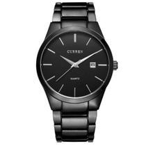Relógio Masculino Curren Analógico 8106 Preto - DUPL -