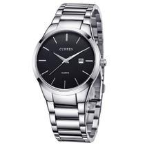 42c225d099f Relógio Masculino Curren Analógico 8106 Preto