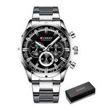 Relógio Masculino Curren Esporte Luxo 8355 + Caixa -