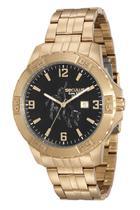 Relógio Masculino De Luxo Seculus Country  Dourado - touro - 20443gpsvda1 -