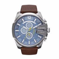 Relógio Masculino Diesel Analógico DZ4281/OAN Aço com fundo azul -