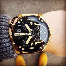 Relógio Masculino Diesel DZ7333/4PN 57mm Dourado -