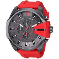 Relógio Masculino Diesel Modelo DZ4427 Vermelho Silicone 51mm Diâmetro -