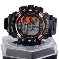 Relógio masculino digital a prova D'água cronômetro alarme - Orizom