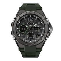 Relógio Masculino Digital Esportivo Sanda 6008 Verde - Smael