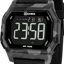 Relógio Masculino Digital Quadrado Camuflado E Preto X-games - X Games