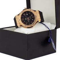 Relógio Masculino Dourado À Prova D'água 100%original - Orizom