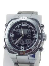Relógio Masculino em Aço 100% Funcional Analógico e Digital - Orizom