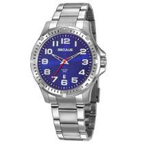 Relógio Masculino em Aço Casual Prata 20787G0SVNA1 Seculus -