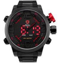 Relógio Masculino Esportivo Shark AnaDigi DS011S Original -