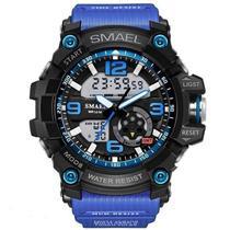Relógio Masculino Esportivo Smael 1617 Azul -