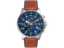 Relógio Masculino Fossil Analógico Dillinger - FS5675/0AN Marrom