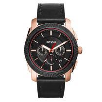 Relógio Masculino Fossil Analógico FS5120/0PN Couro -