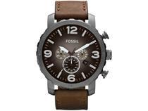 Relógio Masculino Fossil Analógico Nate - JR1424/2PN Marrom