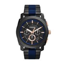 Relógio Masculino Fossil FS5164/1FN 45mm Aço Grafite -