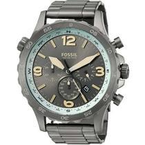 Relógio Masculino Fossil Nate Chronograoh Jr1517/1cn  Cinza -