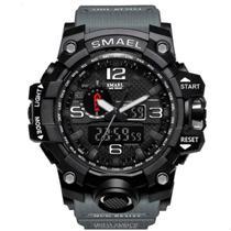 Relógio Masculino G-Shock Militar Smael 1545 - Cinza -