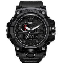 Relógio Masculino G-Shock Smael Militar Exercito Prova Dagua - All Black -