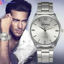 c7d867d5295 Relógio Masculino Genvivia De Aço Inoxidável de quartzo Prata