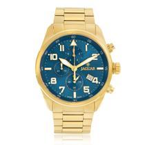 f8806472822 Relógio Masculino Jaguar Analógico J03CBGG01 D2KX Fundo Azul