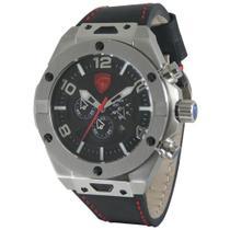 Relógio masculino Lamborghini LB90046652M Coleção Murcielago -