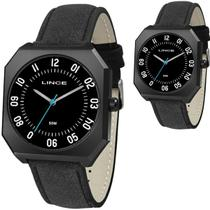 Relógio Masculino Lince Quadrado Preto MQC4500S P2PX -