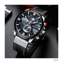 Relógio Masculino Luxo Curren 8346 - Com estojo - Várias Cores -