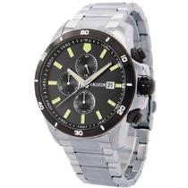 Relógio Masculino Magnum Cronógrafo Prata MA34647T -