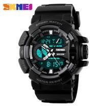 054d9de55bd Relógio Masculino Militar Analógico e Digital Marca Skmei Original Modelo  1117