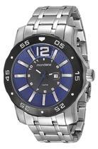 Relógio Masculino Mondaine 94851G0MVNA2 52mm Pulseira Aço Prata -