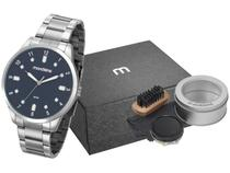 Relógio Masculino Mondaine Analógico - 53599G0MVNE2K1 Prata com Acessório