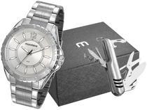 Relógio Masculino Mondaine Analógico - 53828G0MVNE2K1 Prata com Acessório
