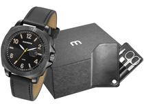 Relógio Masculino Mondaine Analógico - 76716GPMVPH1K1 Preto com Acessório
