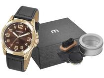 Relógio Masculino Mondaine Analógico - 76720GPMVDH2K1 Preto com Acessórios