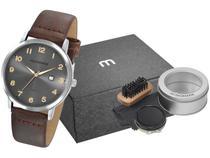 Relógio Masculino Mondaine Analógico - 76724G0MVNH1K2 Marrom com Acessório